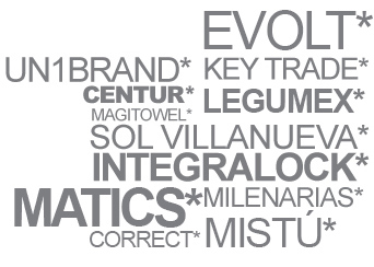 Diseño nombres comerciales