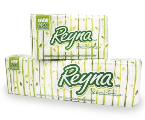 Diseño de Empaque para Servilletas Reyna